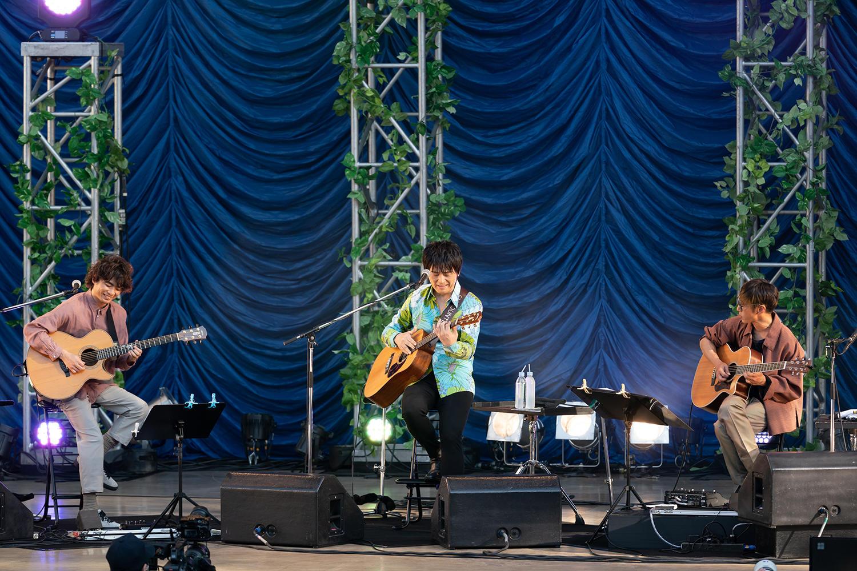 押尾コータローとDEPAPEPEが大阪城音楽堂で奏でた、関西ライブシーン復活の第一歩「緑音感」をレポート!