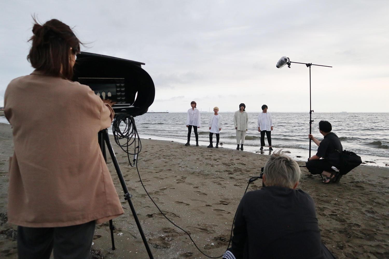 2nd EP『ES』リリース決定!ユアネスNewアーティスト写真、撮影現場潜入レポート