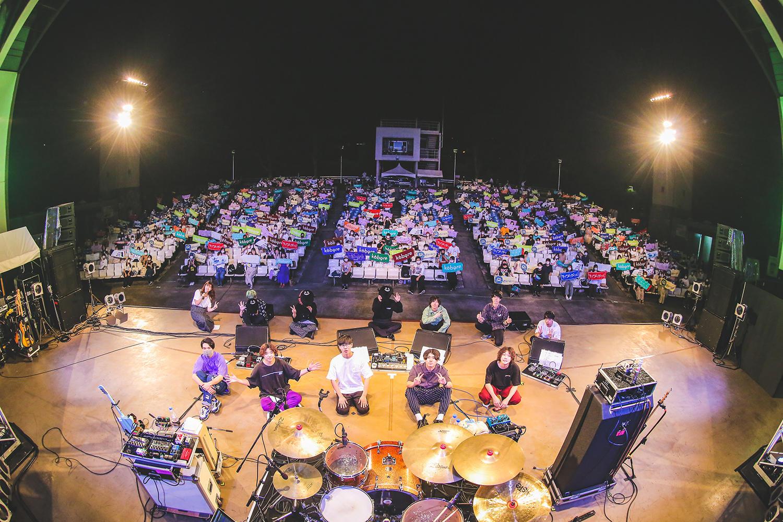 サイダーガール・kobore・the shes gone出演、GREENSライブ再開第一弾イベント「GREENSPARK 2020」をレポート!