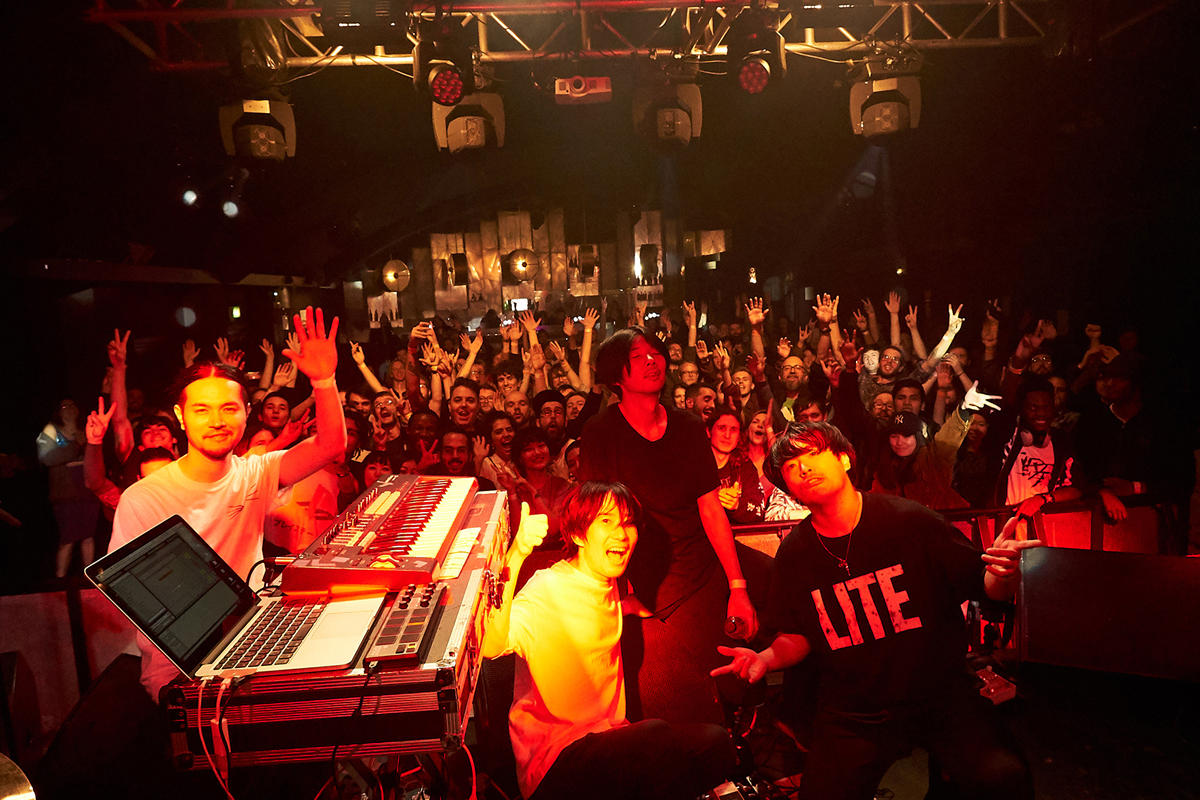 LITE、新曲「Blizzard」のリリースツアーUK/Ireland編、ロンドンで迎えた最終日