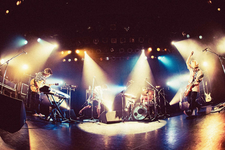 DENIMS、初のリキッドルームワンマン無事終演&ツアー・大阪公演のライブ配信も決定!