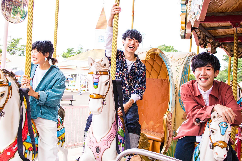 Saucy Dog、対バンツアー甲府・名古屋公演のゲストバンドTHE BAWDIESを発表