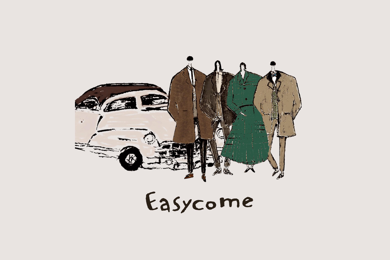 あたたかなポップバンド「Easycome」