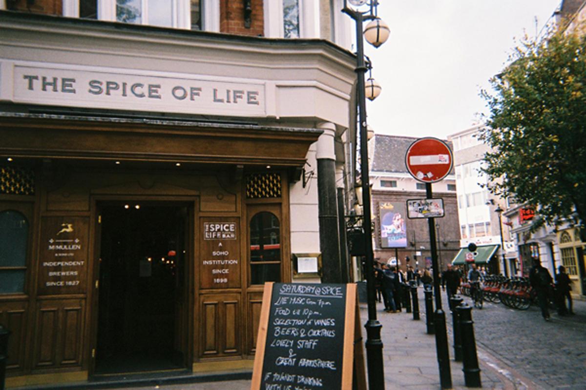 ロンドンに行ってきた!Vol.2 街とかご飯の写真、時々写ルンです。